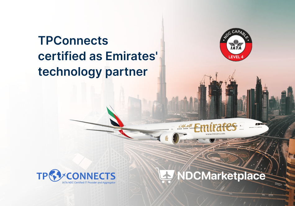 TPConnects certified as Emirates' technology partner.